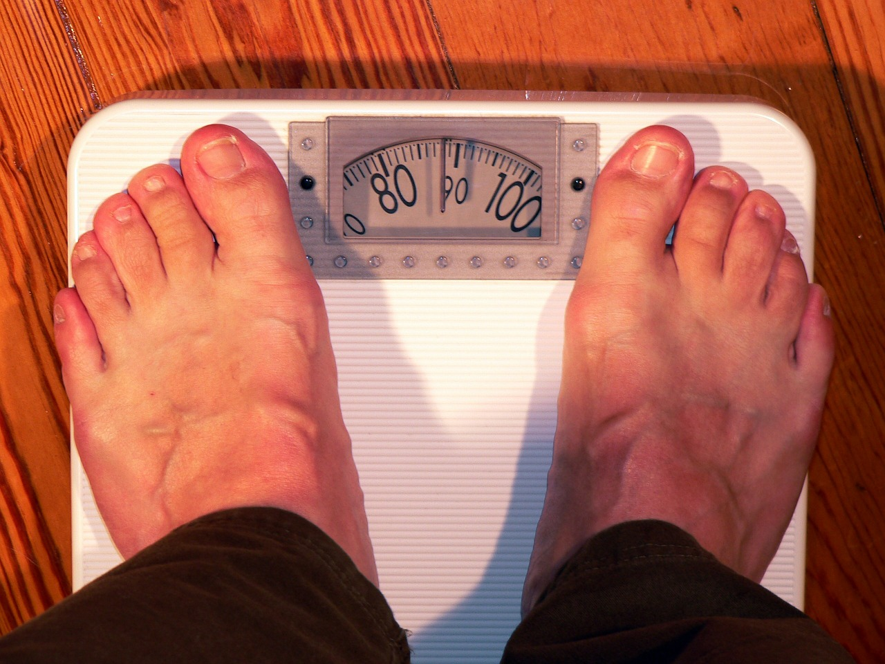 weighing scale measurement
